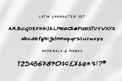 Nadoco Variable Handwritten Font Product Image 5