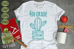 Cactus Grades On Point Elementary School SVG Product Image 2