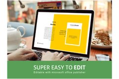Recipe eBook Template Editable Using Ms Publisher Product Image 3