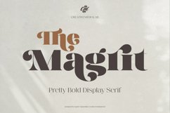 Magrit - Pretty bold display serif Product Image 8