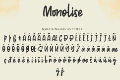 Monolise | Amazing Monoline Font Product Image 6
