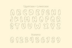 Orange juice playful font Product Image 4