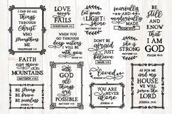 bible verses svg bundle, christian svg bundle, quotes bundle Product Image 1