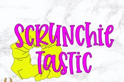 Scrunchie Tastic SVG Product Image 2