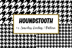 Houndstooth Seamless Pattern Overlay   Pattern svg Product Image 1