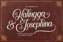 Agenda King - Vintage Script Font Product Image 6