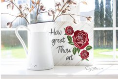 How Great Thou Art Christian SVG | DXF Product Image 1