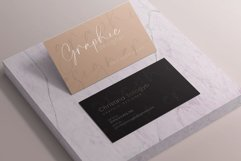 Clean Minimal Business Card Product Image 5