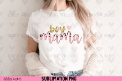 Sublimation Boy Mama mom leopard boho Product Image 3