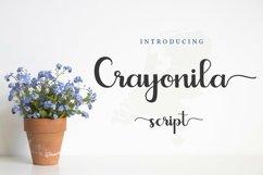 Web Font Crayonila Script Product Image 1