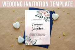 Floral Wedding Invitation Template Product Image 1