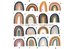 60 Abstract rainbows clipart Product Image 3