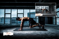 12 Photoshop Actions, ACR, LUT Presets Fitness Pro Product Image 1