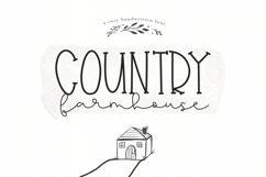 Country Farmhouse - A Handwritten Script & Serif Duo Product Image 1