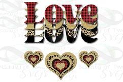 Valentine Sublimation png Love Plaid Cheetah Hearts Retro Product Image 1