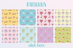 Kawaii patterns, elements Product Image 2