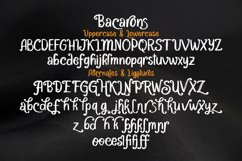 Bacarons - A Stylish Font With Alternatives Product Image 7