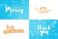 Winter Dream Trio Font Product Image 6