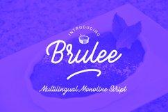 Brulee monoline font Product Image 1