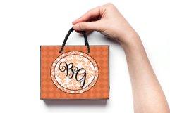 18 Richly Orange Digital Paper Pack Product Image 5