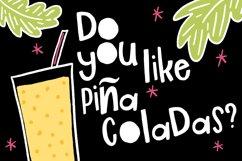 Piña Colada Font Product Image 2