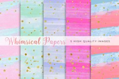 colorful watercolor paper, Watercolor Rainbow Clipart, Rainbow Digital Paper, Rainbow mint clipart, Watercolor Digital Paper Rainbow Colors Product Image 1