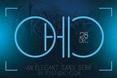 Ohio - Futuristic Sans Serif Font Product Image 1