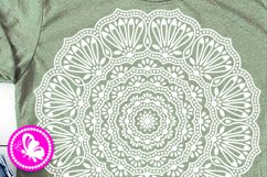Indian Mandala Flowers svg floral decor Meditation Yoga Png Product Image 2