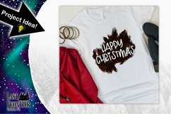 Happy Christmas Sublimation Design Product Image 2