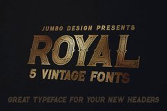 Royal - Vintage Style Font Product Image 2