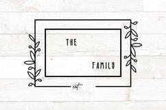 Vol 2 - Family Monogram Sign Bundle Floral Product Image 8