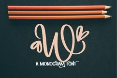 Web Font Hearts With Monogram Font - A-Z Letters Product Image 4