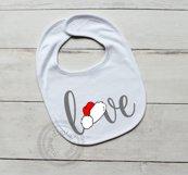 Valentines Love Santa Hat SVG Product Image 2