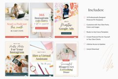 Pinterest Pin Template for Canva Product Image 3