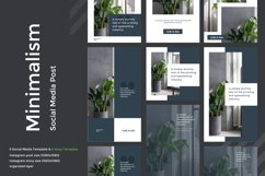 Minimalism Social Media template 02 Product Image 1