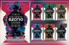 Colorific Electro Photoshop Flyer Template Product Image 1
