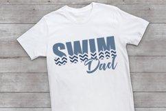 Swim - Swimming - Dad- Proud Dad - Swim Dad SVG Product Image 2