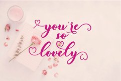 My heart script font Product Image 4