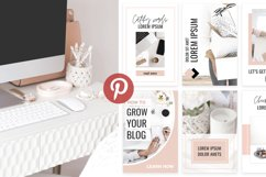 Ladyboss Pinterest Templates for Canva and Photoshop Product Image 2