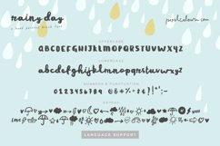 Rainy Day Brush Font Product Image 4