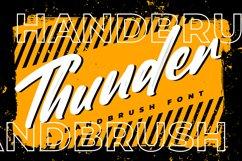 Thunder - Brush Font Product Image 1