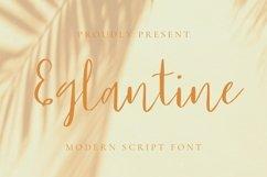 Web Font Eglantine Font Product Image 1