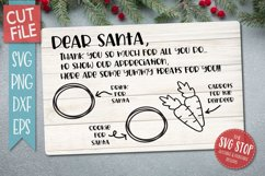 Santa Cookie Tray BUNDLE - SVG, PNG, DXF, EPS Product Image 4