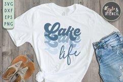 Lake Life SVG   Summer   Retro Shirt   Sublimation Product Image 5