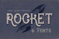 Rocket- Vintage Style Font Product Image 1