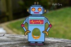 Robot Easter egg holder design SVG / DXF / EPS files. Product Image 5