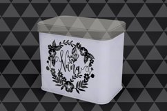 Nana SVG Cutting File, Grandmother Papercut DXF, EPS, PNG Product Image 3