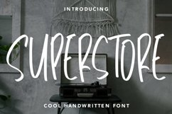 Web Font Superstore - Cool Handwritten Font Product Image 1