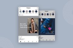 "Elegant Canva Instagram Templates ""Fashion"" Product Image 6"