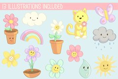 Spring Flower Clip Art Collection Product Image 2